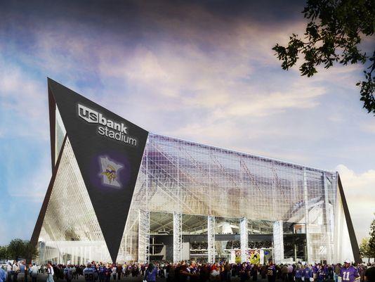 Los Vikings cobrarán 220 millones por el naming de su estadio