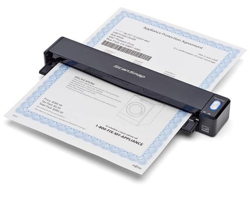 Fujitsu ScanSnap iX100 Wireless Mobile Portable Scanner