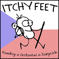 ITCHY FEET in Czech!