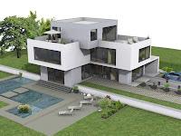 Moderne Villen Grundriss
