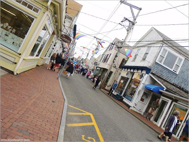 Commercial Street en Provincetown, Cape Cod