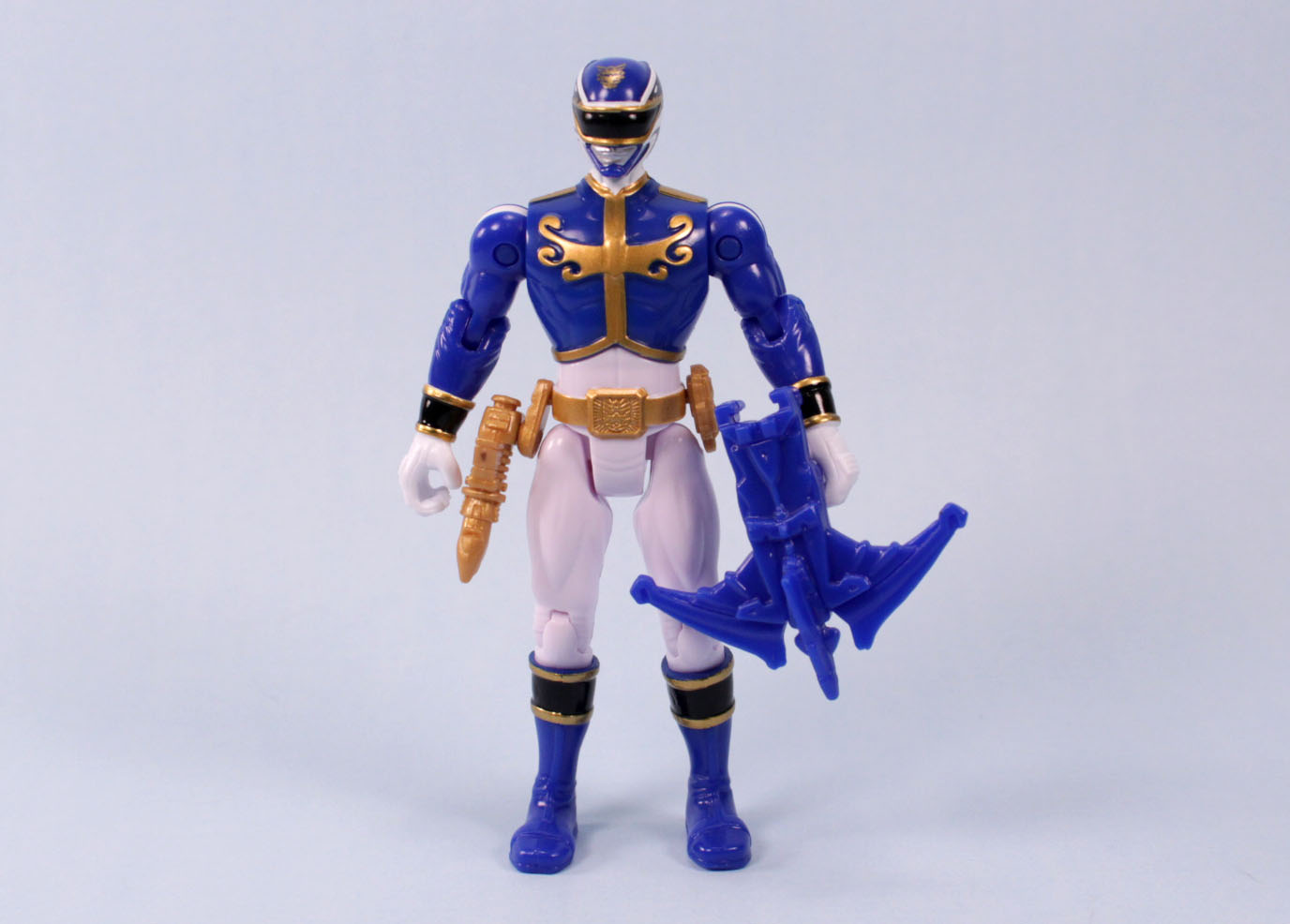 The Toy Museum: Power Rangers Megaforce Blue Ranger & Hot ...