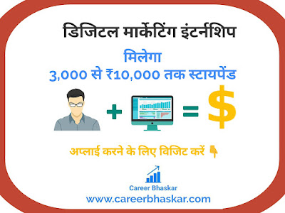 Internshala - Digital Marketing Internship