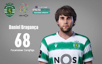 PES 2021 Faces Daniel Bragança by CongNgo