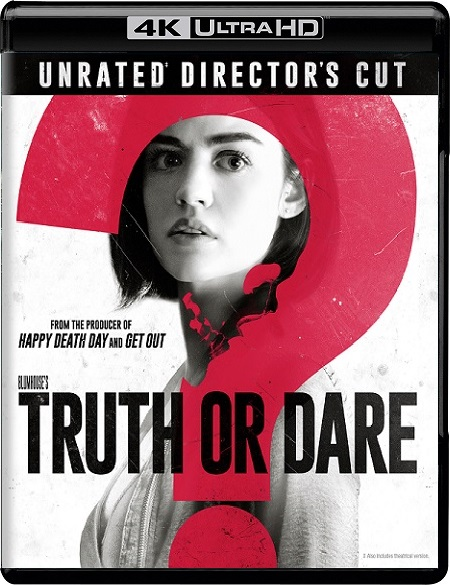 Truth or Dare EXTENDED 4K (Verdad o Reto 4K) (2018) 2160p 4K UltraHD HDR WEBRip 22GB mkv Dual Audio DTS-HD 5.1 ch