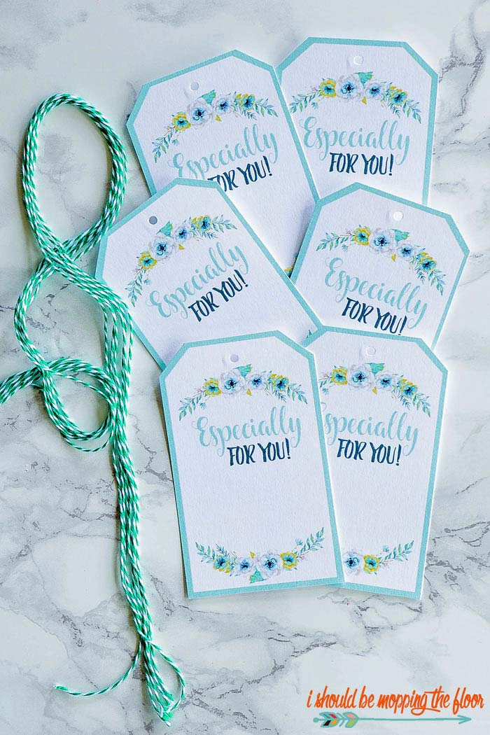Floral Gift Tag Printables