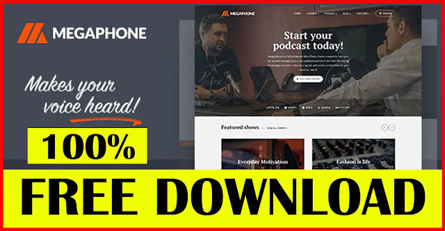 Megaphone-Audio-Podcast-WordPress-Theme