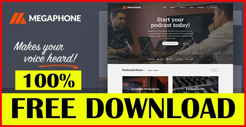 MEGAPHONE V1.2.1 – AUDIO PODCAST WORDPRESS THEME Download