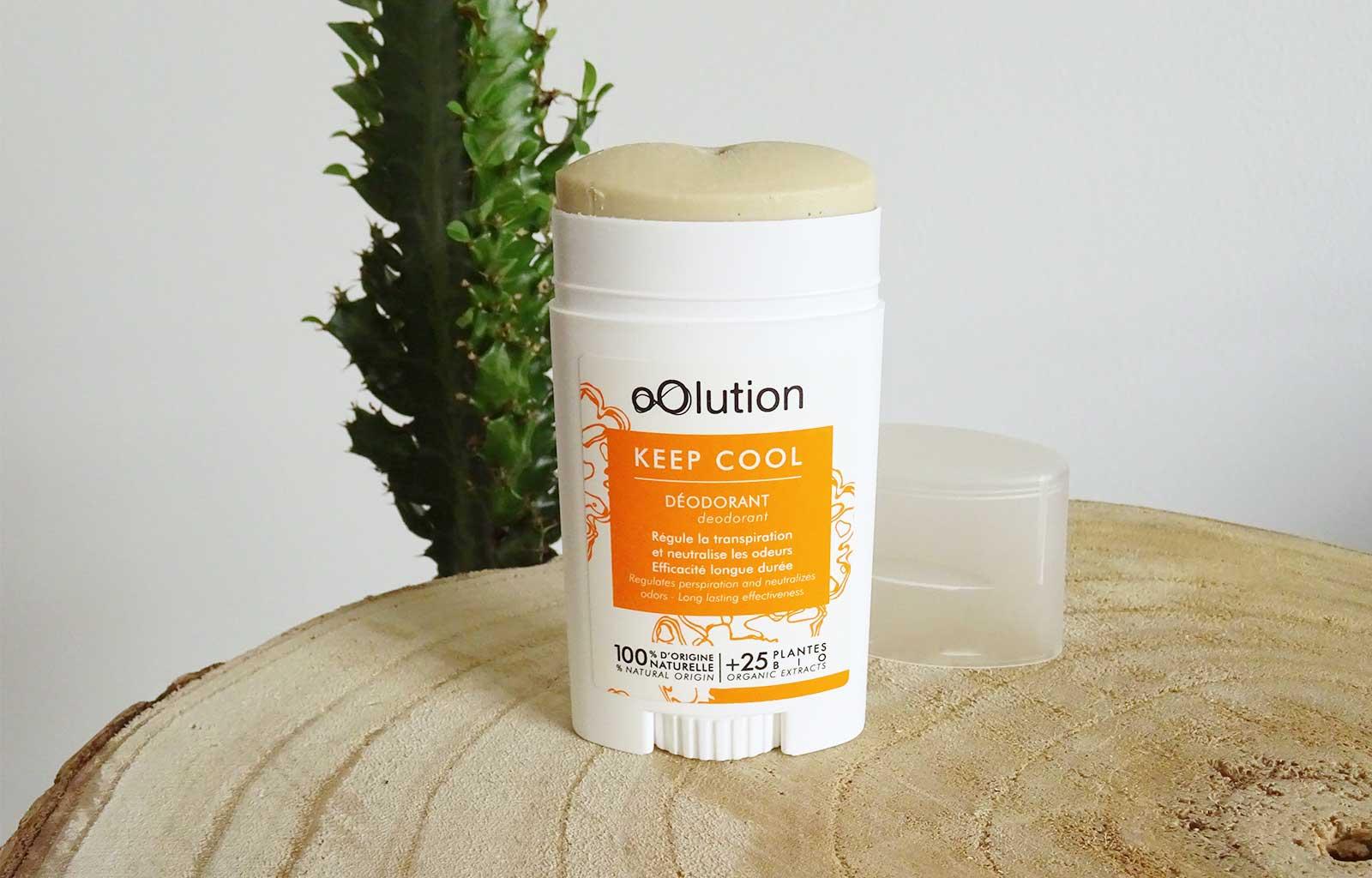 déodorant keep cool oolution