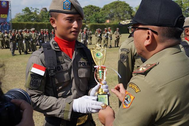 Satpol PP Kebumen Sabet Juara 1 Lomba PBB Jambore Tingkat Provinsi