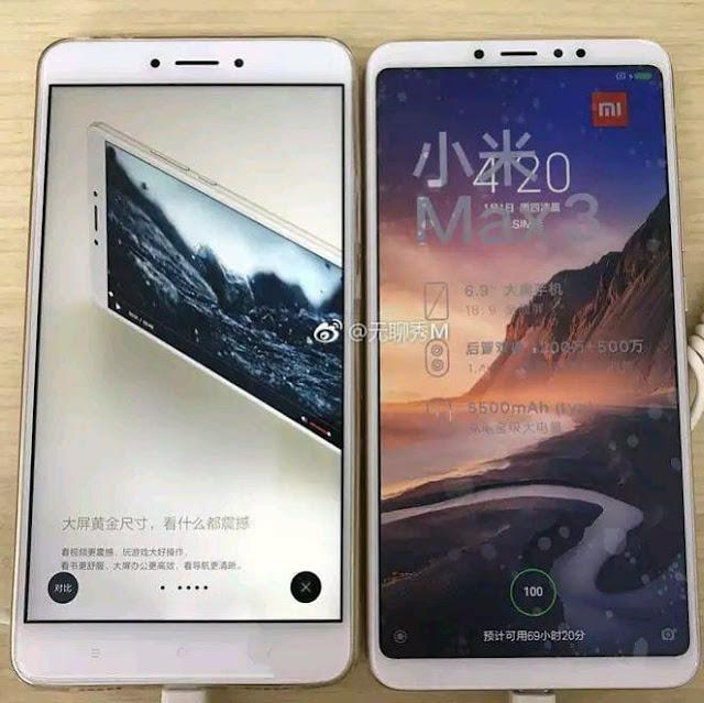 Diferencia entre el Xiaomi Mi Max 2 y 3