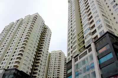 các căn hộ chung cư từ tầng 8 đến 20 là các tầng đẹp