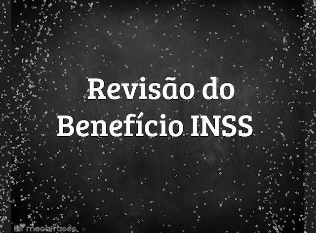 revisão do benefício do INSS