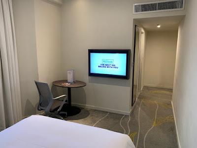 View of room in Hilton Garden Inn Kuala Lumpur North
