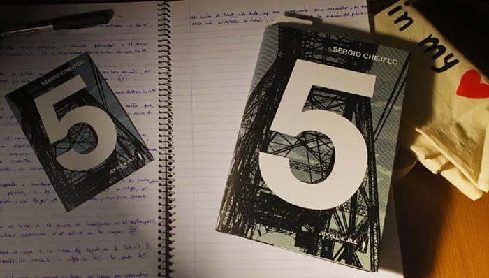 Reseña de «5» de Sergio Chejfec (Jekyll & Jill)