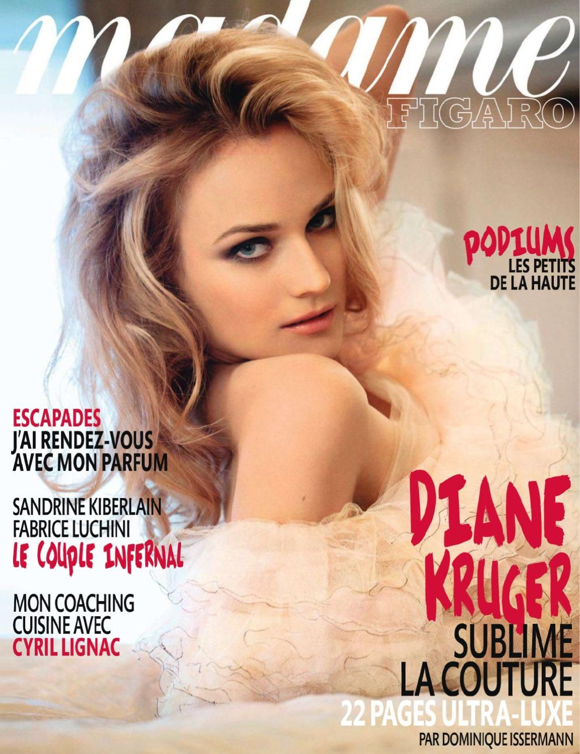 fd28ef0c3 Diane Kruger by Dominique Issermannd for Madame Figaro France February 2011
