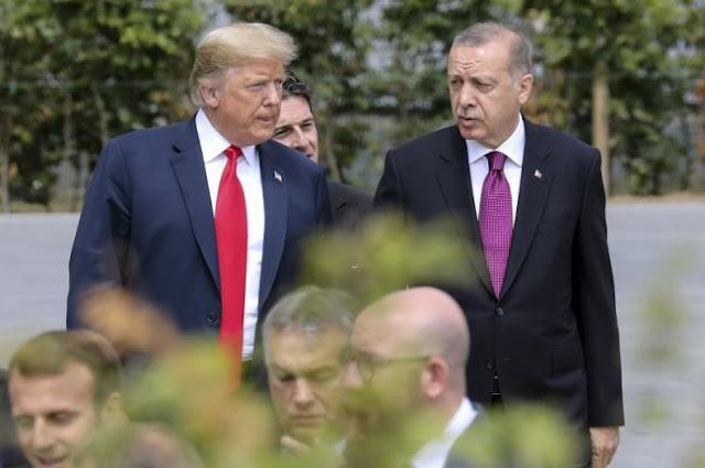Τραμπ προς Ερντογάν: «Μην βλάψετε Αμερικανό στη Συρία»