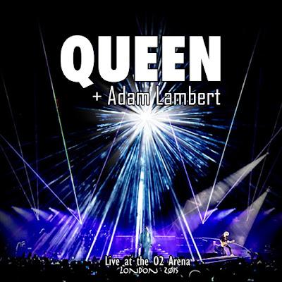 Queen+Adam Lambert - Live At The O2 Arena (2015)