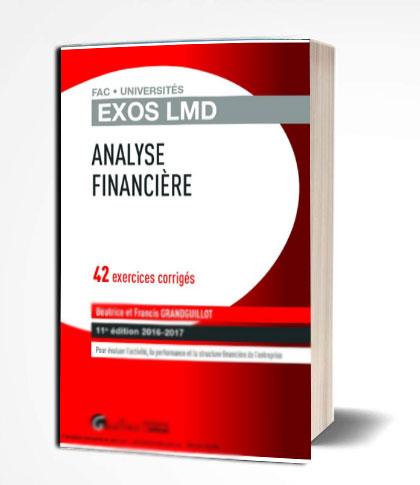 analyse financière 42 exercices corrigés en PDF