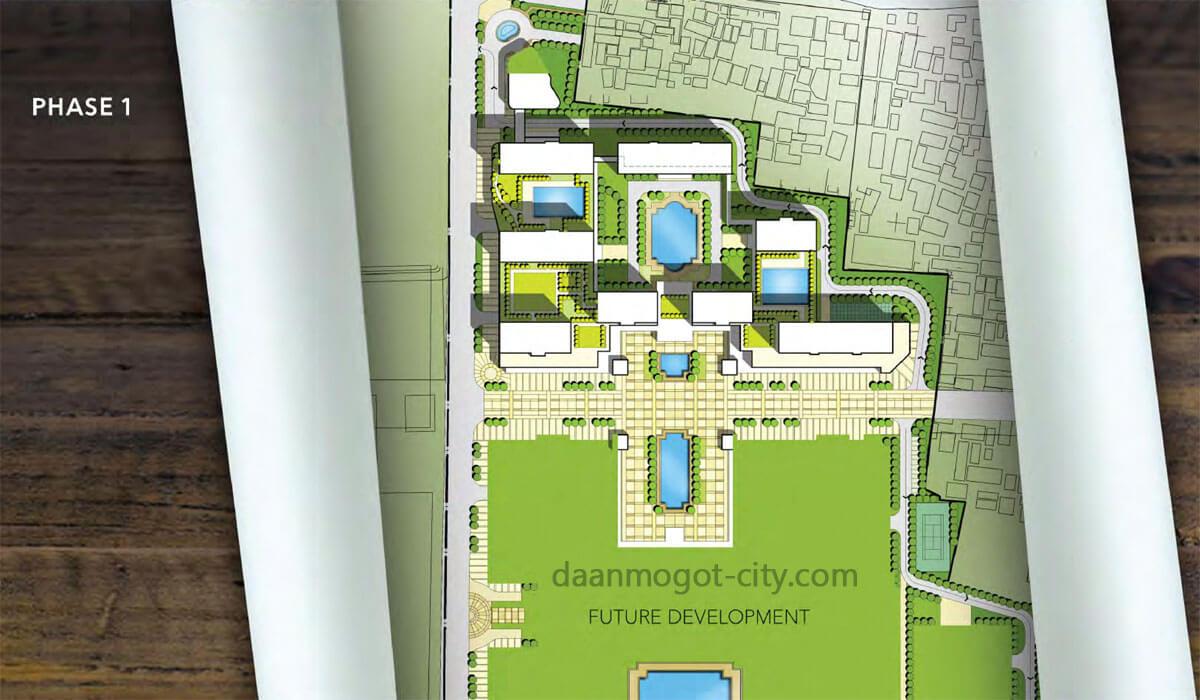 Site Plan Phase1 Daan Mogot City / DAMOCI