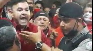 Em Guarabira, Raniery Paulino se exalta e levanta a voz contra policiais; VEJA VÍDEO