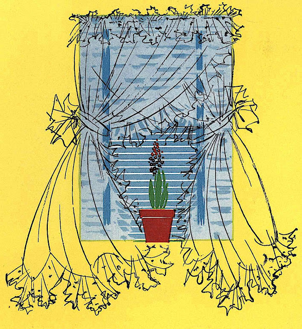 a 1951 illustration of a window