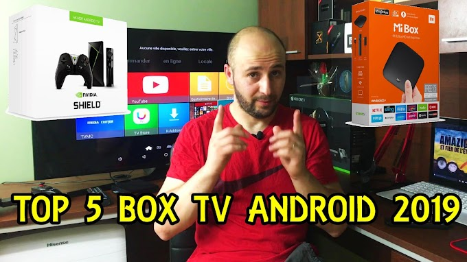TOP 5 MEILLEURS BOX TV ANDROID