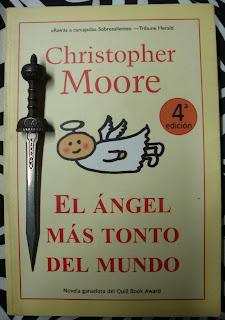 Portada del libro El ángel más tonto del mundo, de Christopher Moore