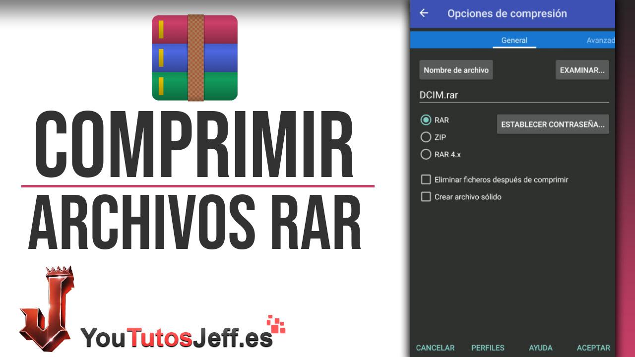 Comprimir y Descomprimir Archivos con Winrar en Android