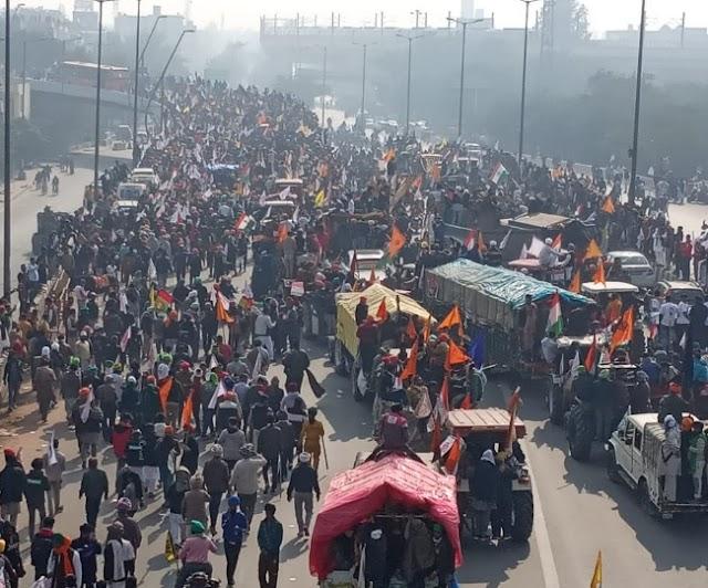 LIVE Kisan Tractor Rally: दिल्ली-एनसीआर के आधा दर्जन इलाकों में इंटरनेट सर्विस बंद, गृह मंत्रालय ने लिया फैसला