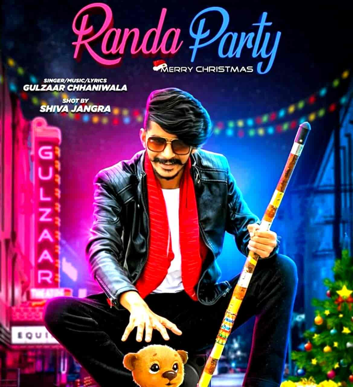 Randa Party Lyrics Images Gulzaar Chhaniwala