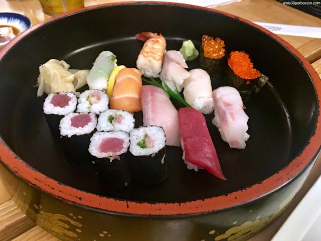 Sushi en Toraya, Arlington