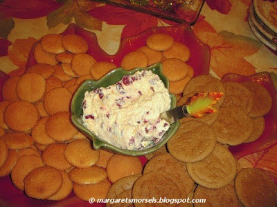 Margaret's Morsels | Cranberry Delight Spread