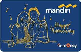 Kartu e-Money Mandiri