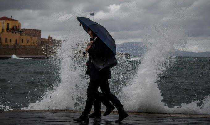 Έκτακτο δελτίο επιδείνωσης του καιρού - Βροχές και καταιγίδες από την Τετάρτη