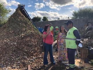 """Sandra Kennedy solicita intervenção da CETESB em """"lixão"""" do Arapongal"""