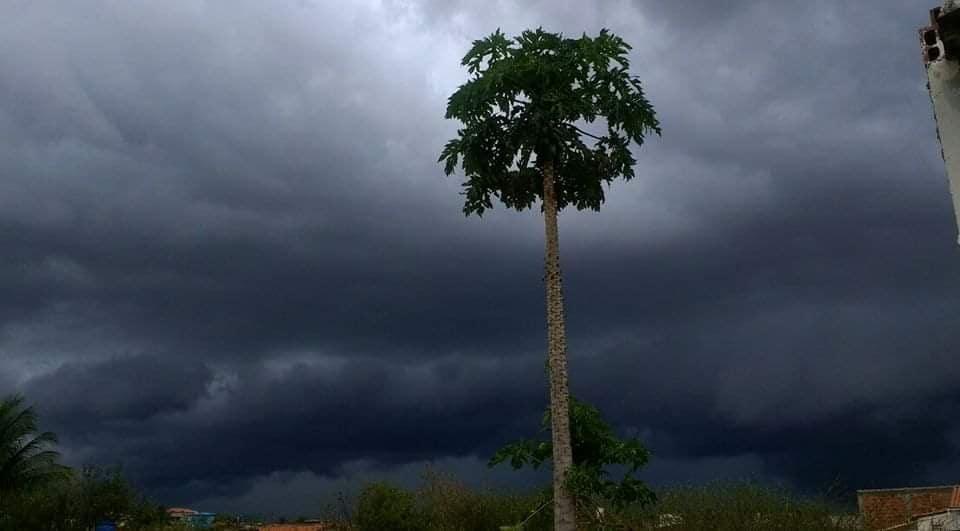 Previsão aponta que deve chover em Malhada de Pedras e região circunvizinhas neste final de semana