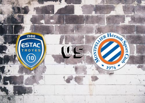 Troyes vs Montpellier  Resumen