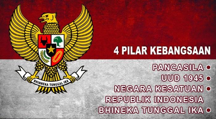 4 Pilar Kebangsaan Indonesia Beserta Pengertian, Konsep, dan Maknanya