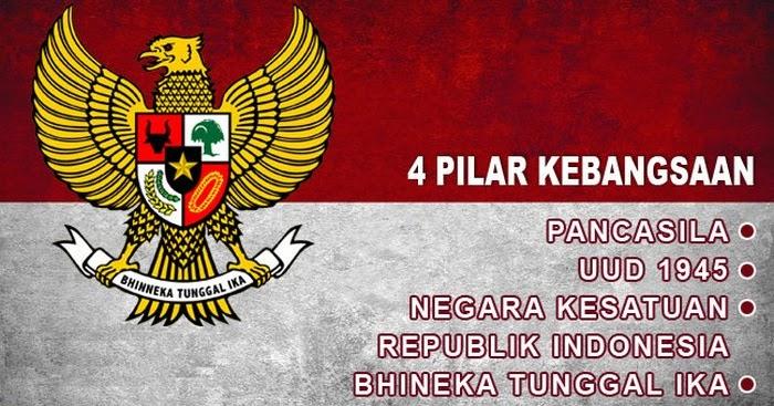 4 Pilar Kebangsaan Indonesia Beserta Pengertian, Konsep ...