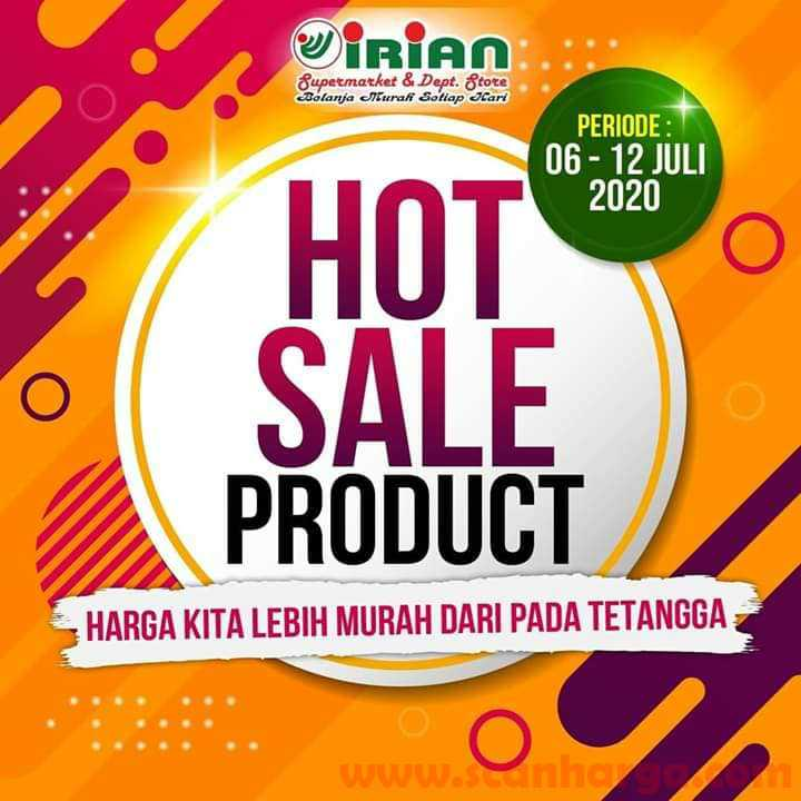 Katalog Promo IRIAN Supermarket Dan Department Store 6 - 12 Juli 2020 1