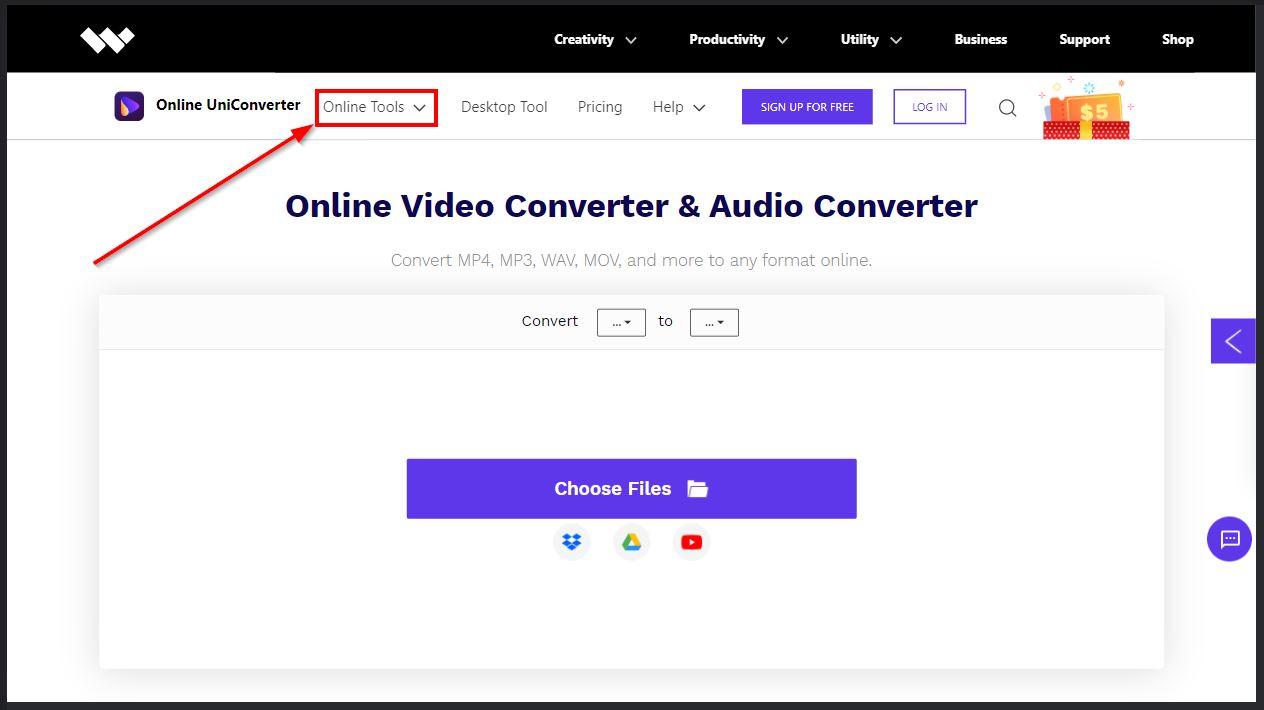 convert dan kompress audio dengan media io