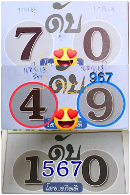 Thailand Lottery 3up Direct Numbers Set Winning Sure Tips 01 July 2020