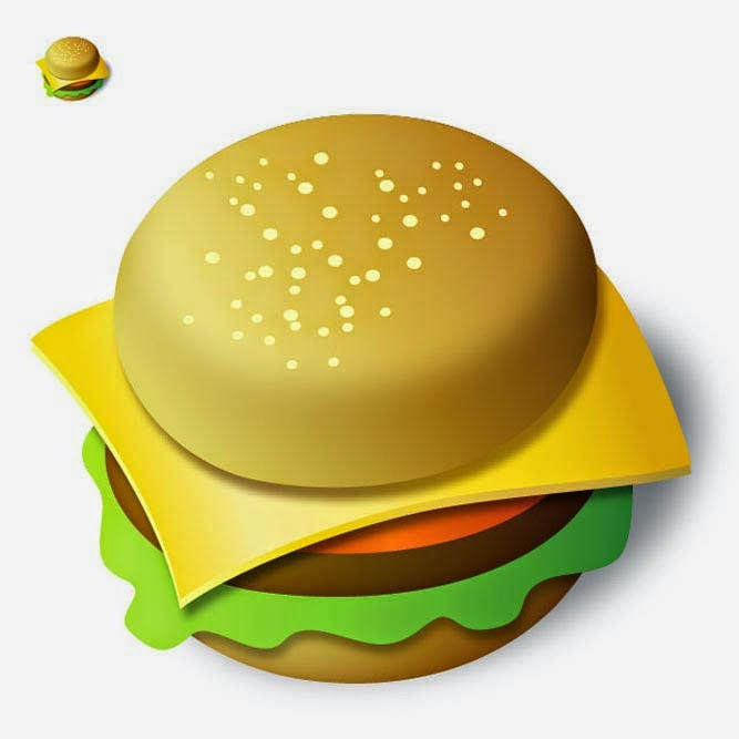 Create a Tasty Burger Icon in Illustrator