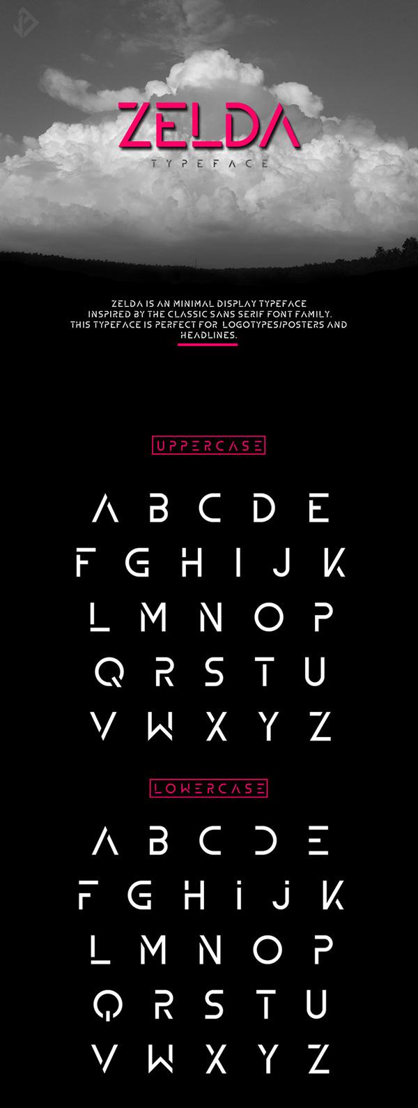 Download Gratis Font Terbaru September 2015 - Zelda - Free Font