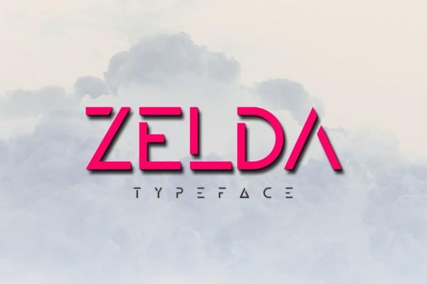 ZELDA Typeface Font