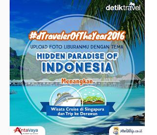 Kontes Foto Hidden Paradise Of Indonesia Berhadiah Liburan Singapura dan Derawan