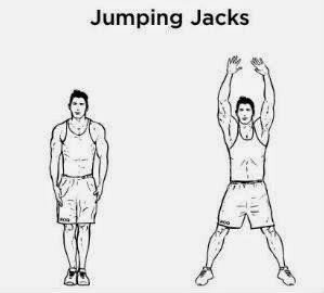 HIIT Jumping Jacks