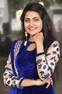 Actress Manumika Stills in Beautiful Purple Dress 0025
