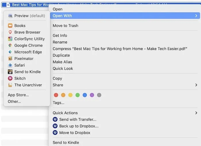 استخراج ملف PDF من صفحة واحدة افتح باستخدام